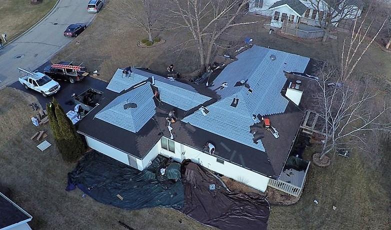 re-roofing in Beloit, WI