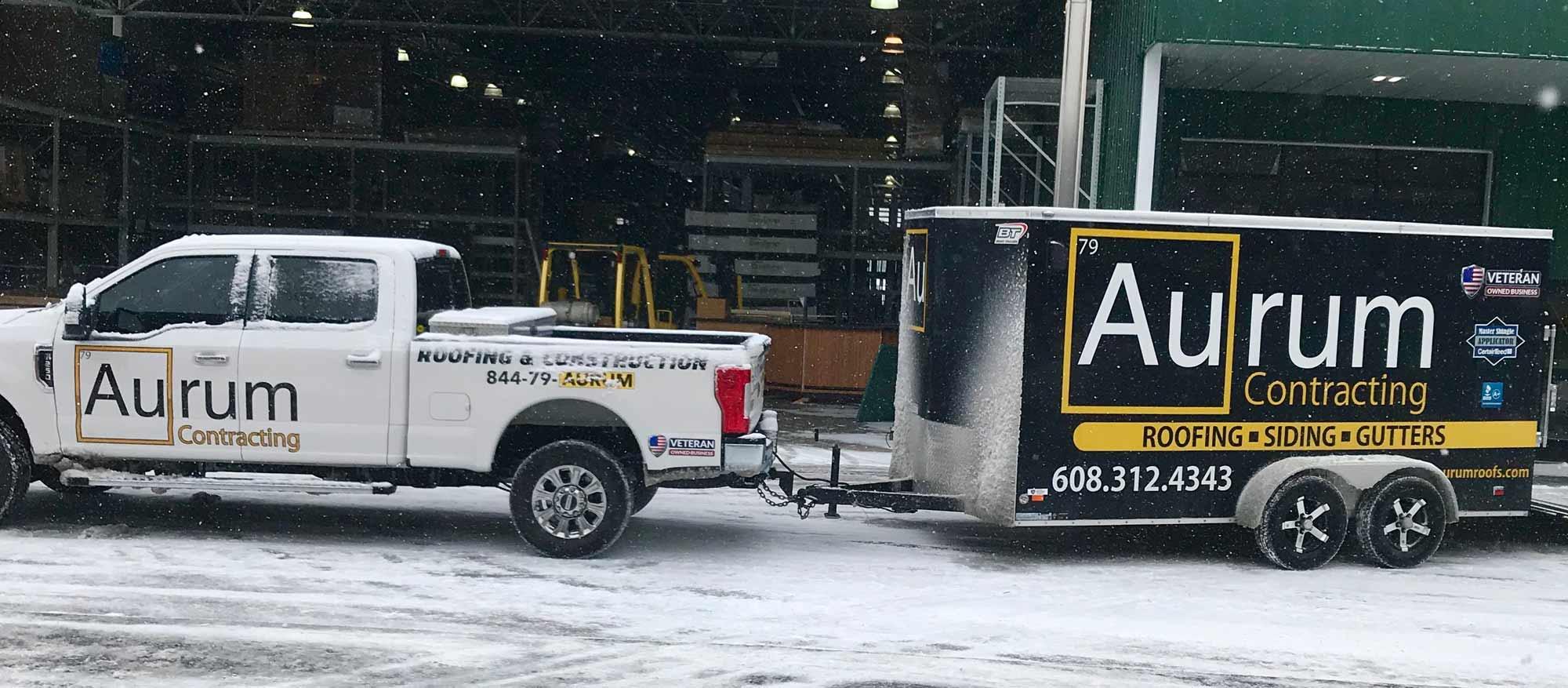 Aurum Contracting Truck