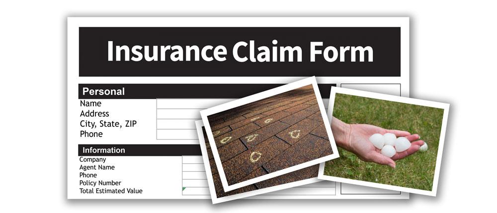 insurance claim form image