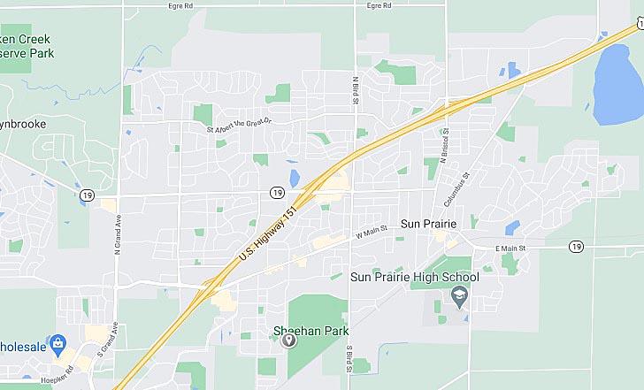 Sun Prairie Map